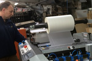 Komfi Amiga 52 laminator at Jubilee Greenwood Press