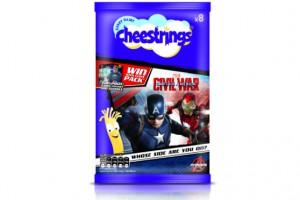 CHEESTRINGS TESCO CAPTAIN AMERICA