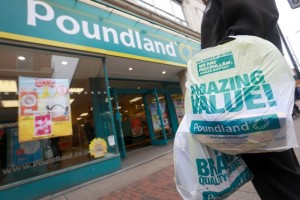 Poundland Carrier Bag