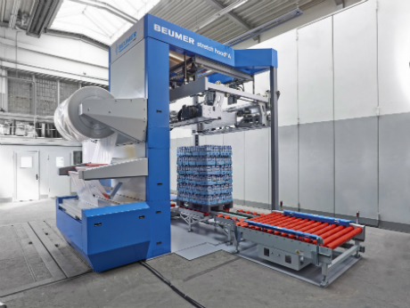 Beumer develops new machine from its stretch hood model range